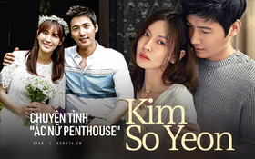 """Chuyện tình """"ác nữ Penthouse"""" Kim So Yeon và tài tử hiền lành: Từ màn """"mượn rượu tỏ tình"""" có 1-0-2 trong lịch sử đến cuộc hôn nhân vàng của châu Á"""
