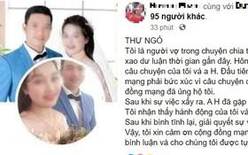 Vụ vợ tố bị đòi 42 triệu tiền ăn, tiền khám sản trước khi ly hôn: Chồng đã xin lỗi, hai vợ chồng muốn chia tay trong hòa bình