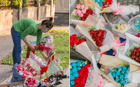Hóng chuyện với bà bán hoa ngày 8⁄3: Có thanh niên đòi mua 1 tặng 1, tôi tò mò chẳng lẽ có 2 cô bồ hay gì?