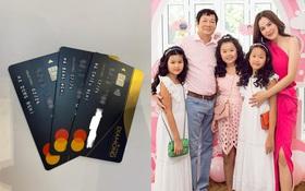 Nhà có 3 cô con gái, Hoa hậu Phương Lê tặng nóng 3 thẻ đen ngày 8⁄3: Hạn mức 2 tỷ⁄ngày, mong con xài tự do theo ý thích