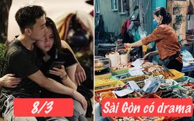 Sài Gòn đêm 8⁄3 có drama gì: Các đôi ăn ốc chủ quán đổ vỏ không kịp, dẫn bạn gái đi xem phim không chịu đặt vé trước và cái kết