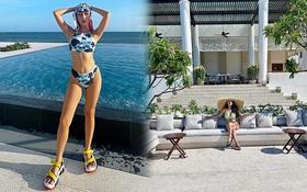 """Resort Bình Thuận Quỳnh Anh Shyn vừa đi: Tên cực kêu, phòng từ 6 triệu đẹp mê, xem xong muốn """"phi"""" ra liền"""