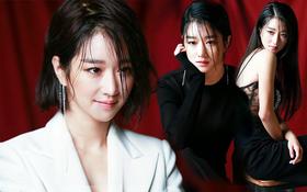 """Seo Ye Ji mặc đồ rất sang, nhưng nhìn ánh mắt như dao cau khoét vào mỏm đá thế này thì bảo sao được gọi là """"điên nữ"""""""