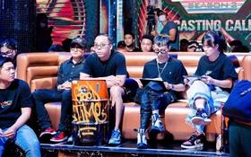 Hé lộ sân khấu casting Rap Việt mùa 2, bộ đôi Touliver - Rhymastic tập trung cao độ