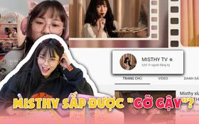 """Linh Ngọc Đàm thông báo kênh YouTube 6 triệu sub của MisThy sắp """"về bờ"""", fan tưng bừng như hội!"""