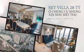 Duplex 28 tỷ ở Vinhomes Metropolis của doanh nhân Hà Nội: Một ngôi nhà đẹp không nhất thiết phải đầu tư nhiều tiền