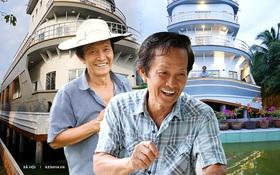 """Cận cảnh nhà du thuyền 5 tỷ """"siêu sang"""" của lão nông miền Tây, ai đến tham quan chỉ cần trả phí bằng nụ cười"""