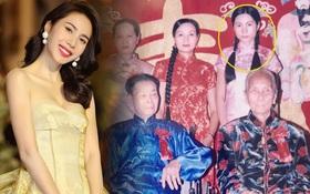 """Mẹ ruột Thuỷ Tiên khui lại ảnh gia đình năm xưa, nhan sắc nữ ca sĩ khác """"một trời một vực"""" với hiện tại"""