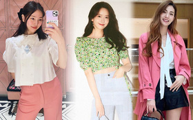 """Check nhanh 9 cách diện áo blouse đẹp mê từ sao Hàn, đang bí ý tưởng lên đồ """"quẩy"""" cuối tuần thì xem ngay!"""