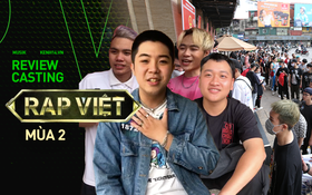 """Review casting Rap Việt từ thí sinh: 1000 người chỉ chọn 20, beat BTC đưa cho """"cũ và không hay"""""""
