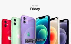 Sự kiện Apple: iPhone 12 chính thức có thêm màu mới