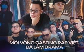 """Rap Việt mùa 2 """"gây nhiễu"""" ngay từ vòng casting: Sức hút thực tế hay """"chiêu trò"""" là nhiều?"""