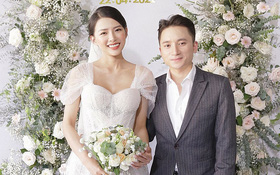 """Đám cưới Phan Mạnh Quỳnh và vợ hot girl tại Nha Trang: Cô dâu khoe vòng 1 hững hờ, """"cẩu lương"""" ngập trời"""
