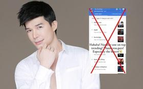 """Nathan Lee vừa """"khoe"""" mình đứng Top 1 tìm kiếm tại Việt Nam, nhưng sự thật thì lầm to rồi!"""