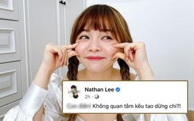 Trinh Phạm bị Nathan Lee điểm danh thẳng mặt trên trang cá nhân: Không quan tâm kêu dừng chi?