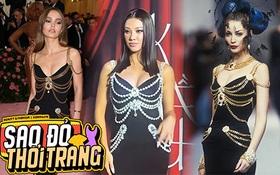 """Á hậu Kim Duyên diện đầm o ép vòng 1 như """"bức tử"""", ai ngờ dính luôn nghi án đạo nhái đồ Chanel"""