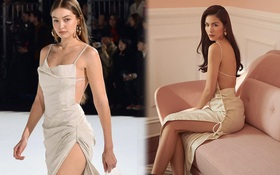 Hà Tăng diện đồ sexy quá nhưng sao cứ giống váy áo của Gigi Hadid thế nhỉ?
