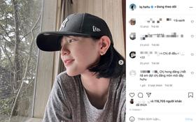 """Nhờ drama với Sơn Tùng, Hải Tú bất ngờ trở thành """"nữ hoàng"""" Instagram của showbiz Việt chỉ với một bức ảnh!"""