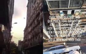 """Xôn xao dòng chia sẻ cuối cùng của nam thanh niên nhảy từ tầng thượng khách sạn trên phố Hà Nội: """"Vĩnh biệt tất cả. Tôi nghỉ ngơi đây"""""""