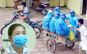 """Người chụp bức ảnh bác sĩ bắt tay nhân viên y tế trên xe ba gác đi vào vùng dịch: """"Tôi chỉ chụp trộm khoảnh khắc đó"""""""