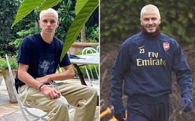 Chỉ một thay đổi trên gương mặt, quý tử nhà Beckham khiến dân tình phải tới tấp đào lại hình ảnh ông bố David thời trẻ để so sánh