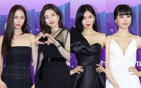 """Cập nhật siêu thảm đỏ Baeksang 2021: """"Ác nữ Penthouse"""" Kim So Yeon o ép vòng 1, át cả đôi nữ thần Kpop Suzy - Krystal"""