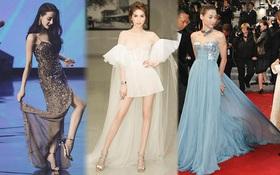 """Chẳng riêng Hoa hậu Thái Lan """"sấp mặt"""" vì váy dài tại Miss Universe, loạt mỹ nhân này cũng từng gặp """"tai nạn"""" vì item thướt tha ấy"""