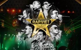 Khỏi tìm fancam đâu nữa, concert Rap Việt - All Star sắp chiếu bản full rồi!