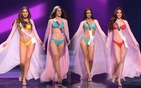 Tranh cãi BXH 15 Hoa hậu trình diễn bikini đẹp nhất Bán kết Miss Universe theo Missosology, đáng lo nhất là kết quả của Khánh Vân