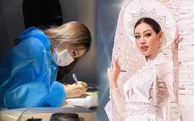 """Khánh Vân viết tâm thư gây xúc động trước giờ Chung kết Miss Universe: """"Từ trong tâm trí, tôi nghĩ mình đã chiến thắng"""""""