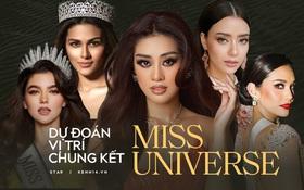 Dự đoán nóng Top 10 Chung kết Miss Universe 2020: Khánh Vân giành vương miện, Thái Lan - Ấn Độ so kè ngôi Á hậu
