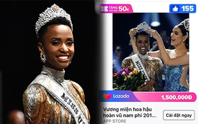 Thi Miss Universe làm gì cho mệt khi bạn có thể lên Lazada và trở thành Hoa hậu?