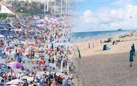 Cảnh trái ngược ở Vũng Tàu dịp lễ 30⁄4 và giữa dịch Covid-19: Bãi biển không bóng người, đường sá không bóng xe