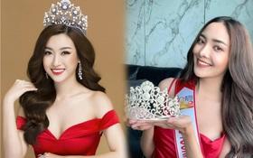 """Chưa hết biến: Miss Tourism Thái bị tố đạo nhái vương miện của Hoa hậu Đỗ Mỹ Linh, netizen tràn vào fanpage """"khủng bố"""""""