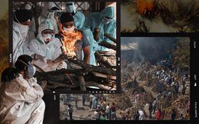 """Một ngày tại lò hỏa táng giữa """"địa ngục Covid"""" Ấn Độ: Khi cái chết là sự thật duy nhất trong các lò hỏa thiêu đang đỏ lửa ngày đêm"""