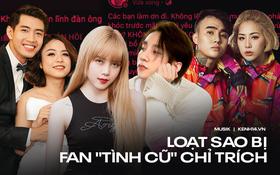 """Đạt G, Thiều Bảo Trâm và Thái Trinh sau chia tay đều bị fan """"tình cũ"""" ùa vào chỉ trích, các sản phẩm âm nhạc cũng bị liên lụy"""