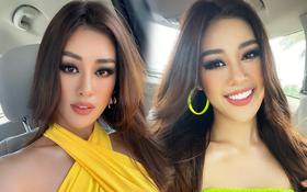 10 điểm cho Khánh Vân: Tự makeup, làm tóc mà xịn như có ekip hỗ trợ, sao Việt lẫn netizen lao vào khen lia lịa