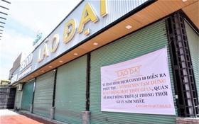 Chưa đến giờ G, nhiều hàng quán ở Đà Nẵng đã chủ động đóng cửa sớm để phòng dịch Covid-19