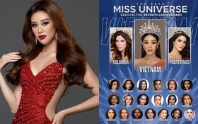 Khánh Vân được dự đoán đăng quang Miss Universe 2020, vượt cả thành tích huyền thoại của H'Hen Niê