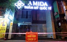 Nhân viên thẩm mỹ viện mắc Covid-19 ở Đà Nẵng từng đến Hòa Bình và 2 bệnh viện ở Hà Nội