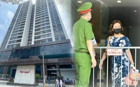 Hà Nội: Lập rào chắn, cách ly y tế tạm thời chung cư The Legacy sau ca dương tính với SARS-CoV-2