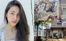 Thuỷ Tiên bất ngờ bị tung bằng chứng nghi vấn đập đi xây lại biệt thự chục tỷ dù khẳng định chỉ sửa nhà?