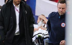 Hình ảnh cả thế giới ngóng chờ: Eriksen đã tỉnh lại!