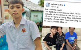 """Hồ Văn Cường chính thức nói rõ về chuyện chị gái lượm ve chai, bức xúc lên tiếng: """"Con đang chuẩn bị thi, con cũng rất áp lực"""""""