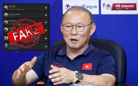 Tại sao HLV Park Hang-seo không dùng mạng xã hội?