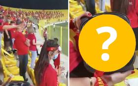 Cổ động viên Việt Nam hé lộ món quà đặc biệt từ ban tổ chức Dubai trên khán đài tối qua, ai cũng tấm tắc vì quá tâm lý!