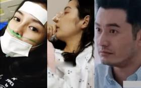 Rầm rộ tin Angela Baby bị Huỳnh Hiểu Minh đánh đập tơi bời tới mức nhập viện
