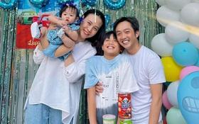 Vợ chồng Cường Đô La tổ chức sinh nhật cho Subeo tại villa sang chảnh, nụ cười hạnh phúc của cả gia đình thấy mà ngưỡng mộ