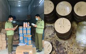 Hà Nội: Thu giữ hàng tấn nguyên liệu trà sữa Royal Tea, Gong Cha... ẩm mốc, không rõ nguồn gốc xuất xứ