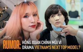 Sự thật về việc Hồng Xuân bị Nguyễn Hợp ném đồ đến gãy mũi gây chấn động Vietnam's Next Top Model năm nào
